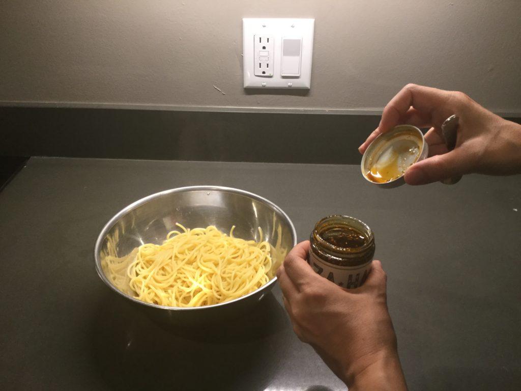 Za-Ha Zaatar Pasta Recipe