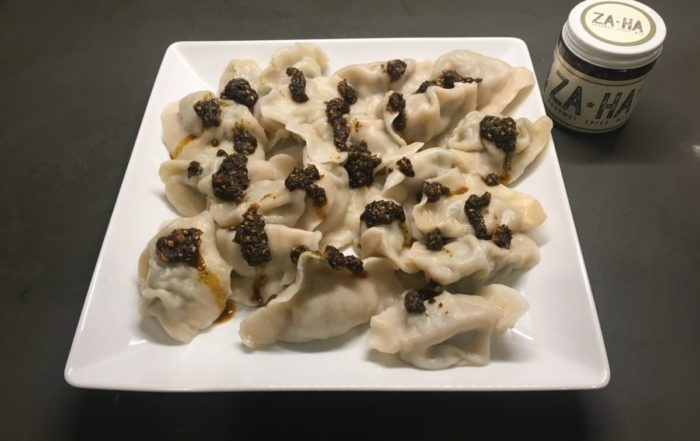 Zaatar Spread Asian Pot stickers