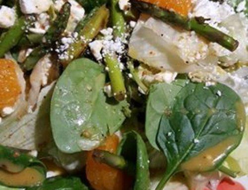 Zaatar Spread Salad Recipe Idea