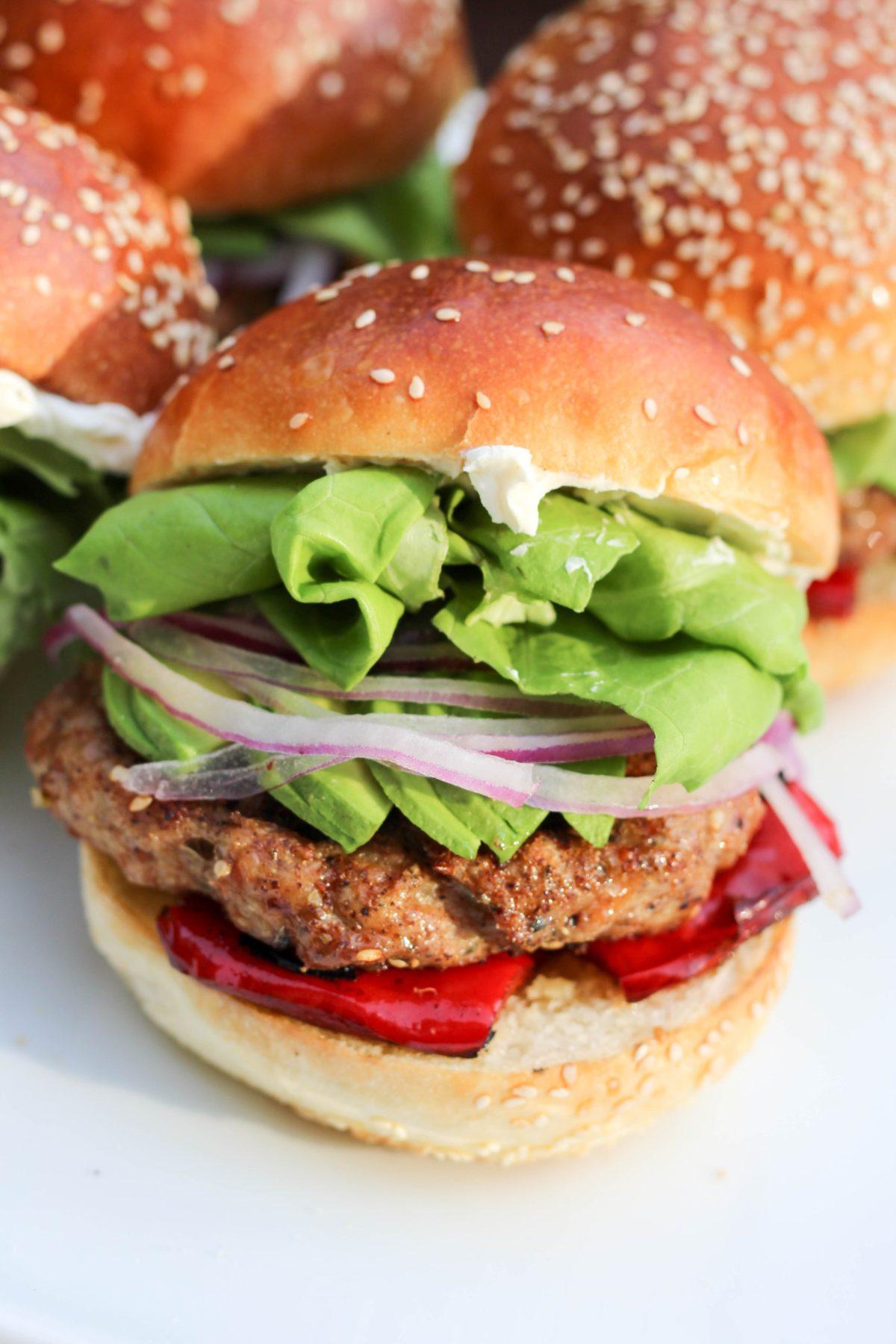 za-ha zaatar recipe idea chicken burgers