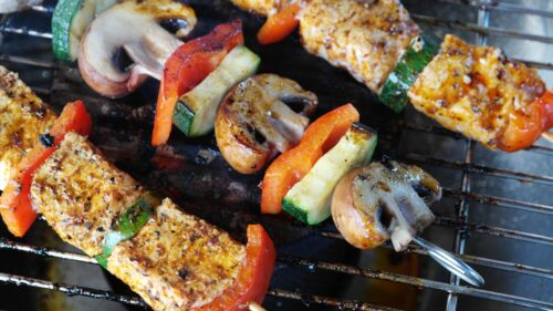 Za-Ha Zaatar Seasoning chicken kebab recipe