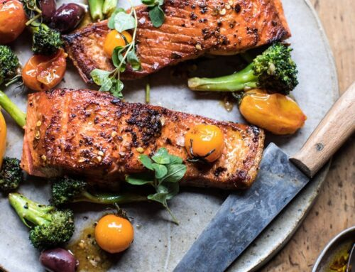 Za'atar Garlic Salmon