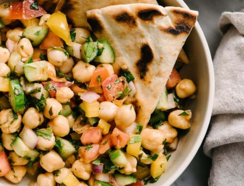 Loaded Mediterranean Chickpea Salad